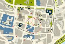 Stadtpläne und Liniennetz Jena